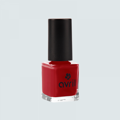 Vernis à ongles Rouge Opéra N° 19  7 ml made in France