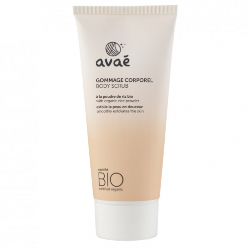 Gommage corporel 200 ml Avaé - Certifié bio made in France