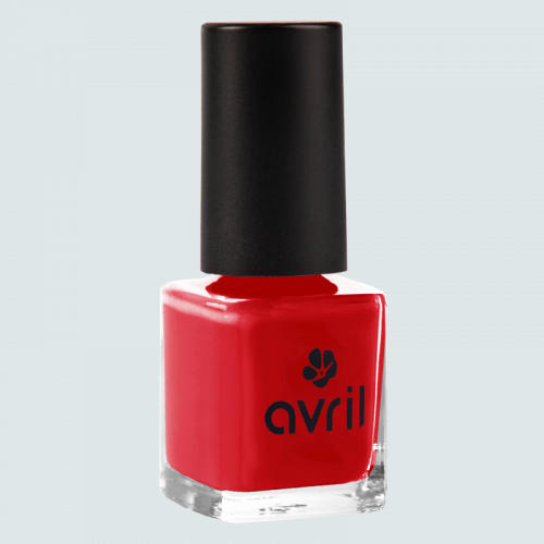 Vernis à ongles Rouge Passion  7 ml made in France