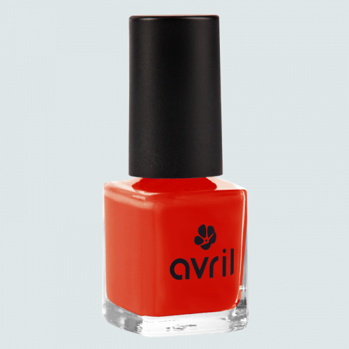 Vernis à ongles Coquelicot  7 ml made in France