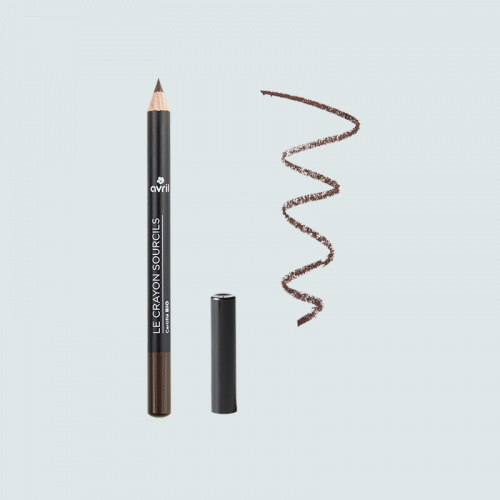 Crayon sourcils Brun - Certifié bio made in France