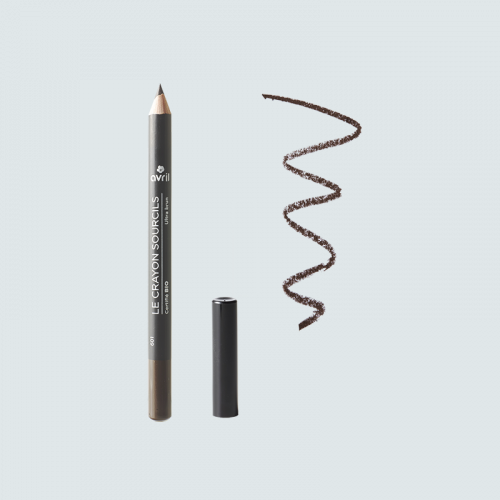 Crayon sourcils Ultra Brun -  Certifié bio made in France