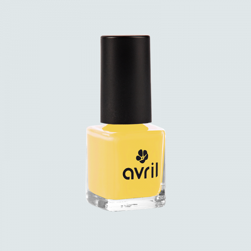 Vernis à ongles Jaune Curry n°680  7 ml made in France