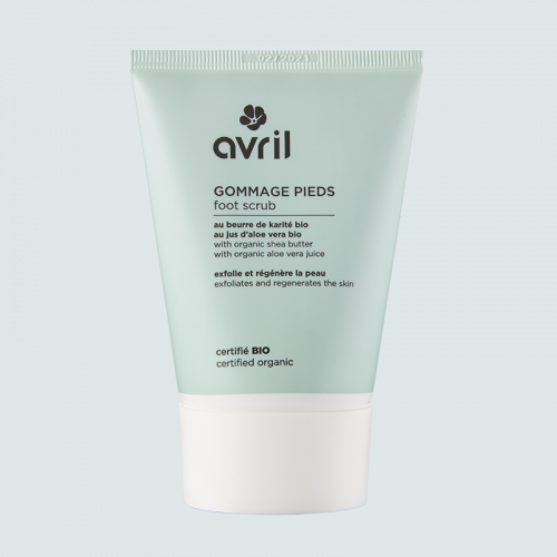 Gommage pieds  100 ml - Certifié bio made in France