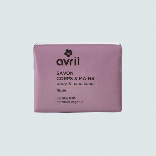 Savon corps & mains Figue  100g - Certifié bio made in France
