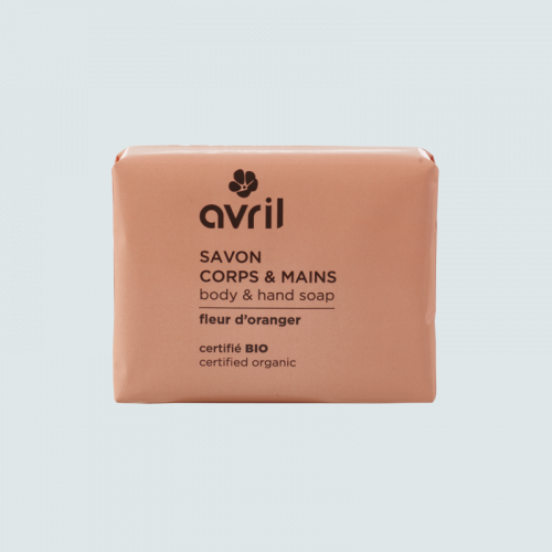 Savon corps & mains Fleur d'oranger  100g - Certifié bio made in France