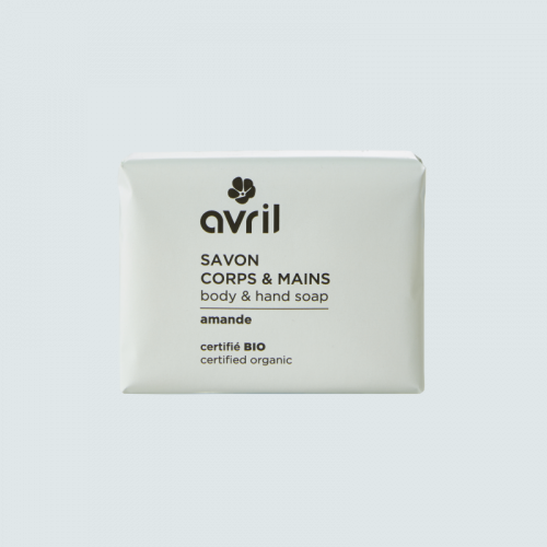 Savon corps & mains Amande  100g - Certifié bio made in France
