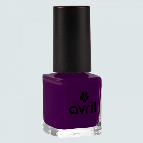 Vernis à ongles Aubergine  7 ml made in France