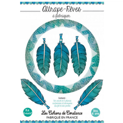 Attrape-rêves à fabriquer « Blue » made in France