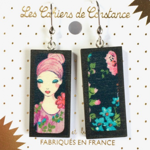 Boucles Rectangle Endormie origine France