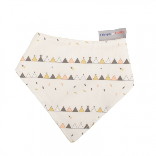 Bavoir bandana Tipis made in France