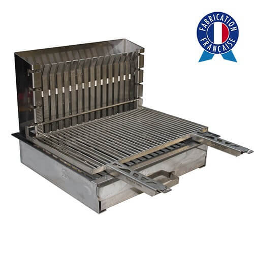 Barbecue tout inox encastrable made in France