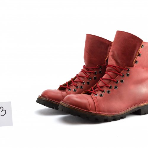 Boots Moon  taille 43 ArtHpied - cuir rouge