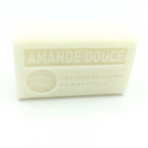 Savon à l'Huile d'olive Bio Amande douce - 125g made in France