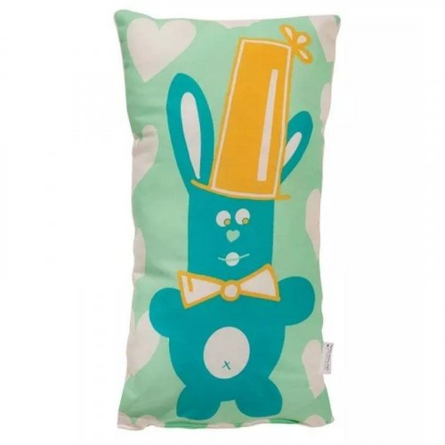 Coussin doudou Lapinou Circus made in France
