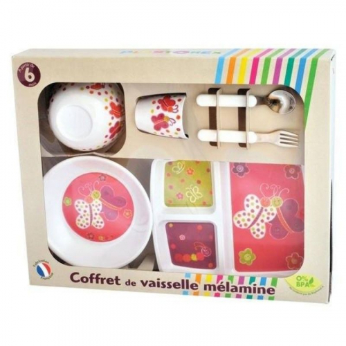 Coffret repas papillons made in France