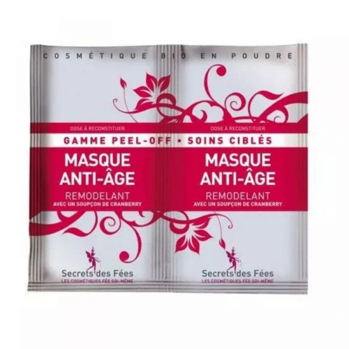 Masque Peel-off bio, anti-âge remodelant made in France