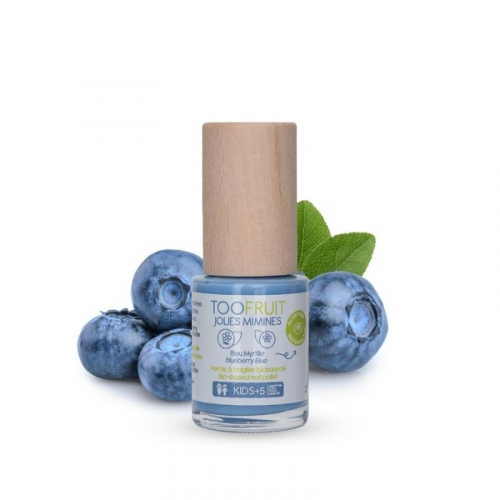 Jolies Mimines Myrtille - Vernis Biosourcé made in France