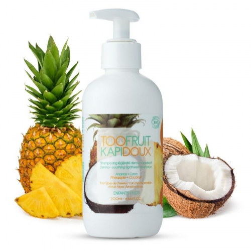Kapidoux Shampoing ananas - coco made in France