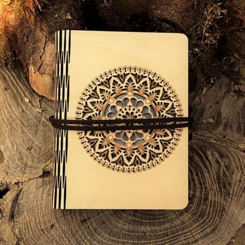 Mandala - Carnet spirituel made in France