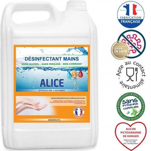 Désinfectant Mains - 5L made in France