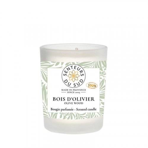 Bougie parfumée Bois d'olivier - 75g made in France