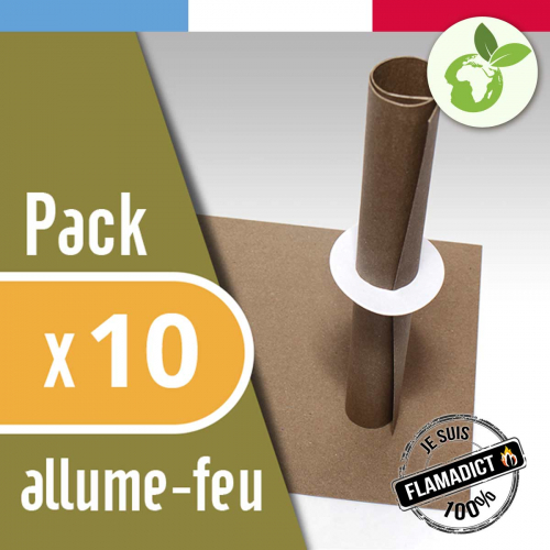 FlaMagic – Allume-feu – Pack de 10 made in France