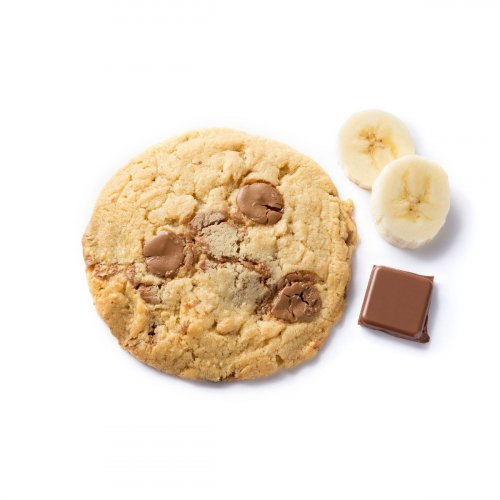 Cookie Chocolat au Lait & Banane made in France
