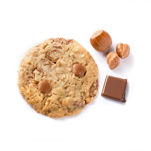 Cookie Chocolat au Lait & Noisettes made in France