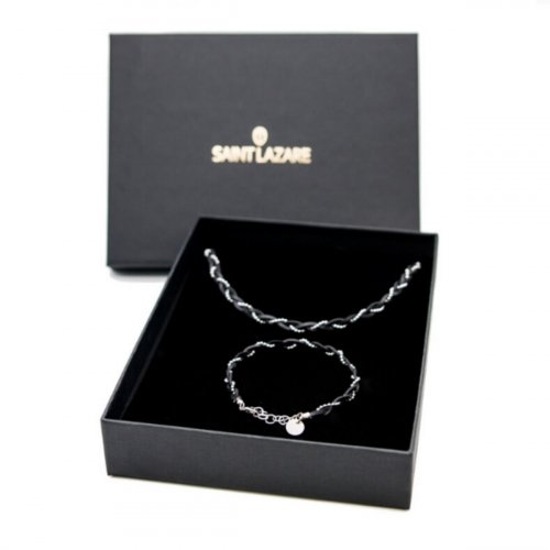 Coffret cadeau Victoria argent made in France