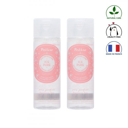 Duo eaux micellaires cristallines - Ice Pure made in France