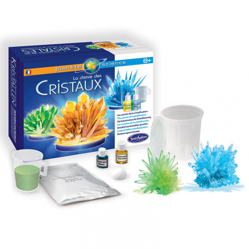 Coffret cristaux made in France